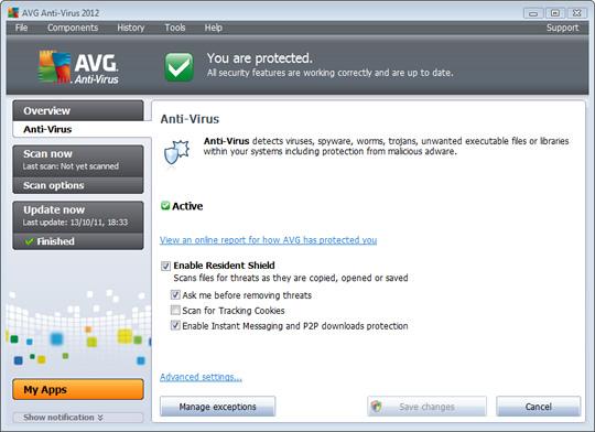 AVG Antivirus Won t Update