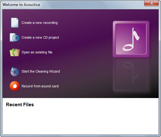 Screenshot of Acoustica Premium 7 1