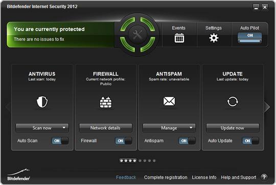 Screenshot of BitDefender Internet Security 2014 1