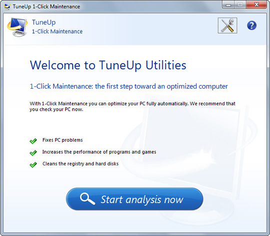 Screenshot of AVG PC TuneUp 2019 1